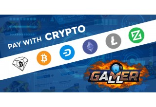 Pay with Crypto at GamerAll
