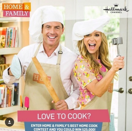 $25,000 Cash Prize for Home & Family's Best Home Cook on Hallmark Channel