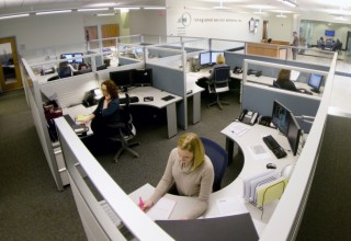 A look inside the corporate office of Integrated Service Solutions, Inc.