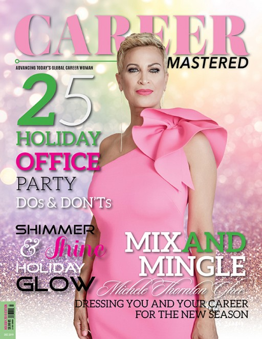 Media Mogul Michele Thornton Ghee Graces Cover of Career Mastered Magazine