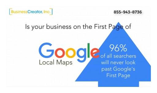 Google Maps Google Local Search Optimization BusinessCreator Edward Kundahl 855-943-8736