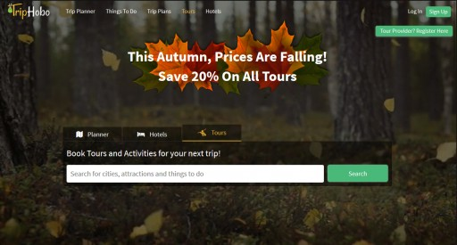 TripHobo Launches Tours & Activities With a Special Introductory Offer