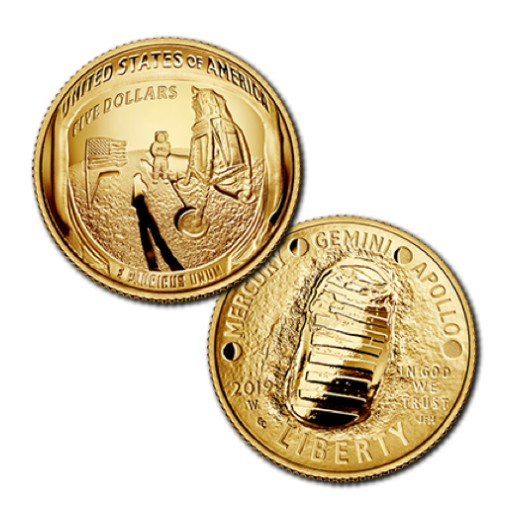 Major U.S. Mint Release Apollo 11 50th Anniversary Commemorative Coins Now Available at GovMint.com