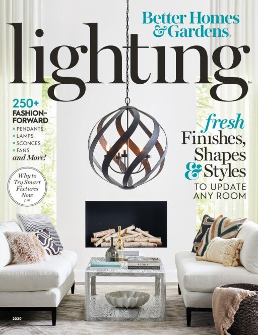 Find Inspiration for a Perfectly Lit Home in 'Lighting' Magazine