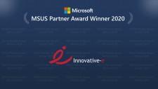 Innovative-e Award banner