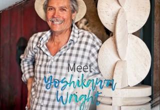 Award-winning sculptor Yoshikawa Wright.