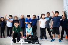 Empower Charter students participate in unique fitness program