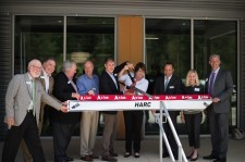 HARC Leadership Team Performs Ribbon Cutting Ceremony
