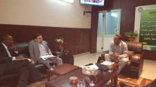 Sudan's Vice President, Party Affairs fields questions from US journalists