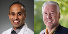 Dr. Rajiv Mallipudi, left, and Dr. Rod Walters