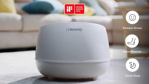 NAIPO Announces World's 1st Smart Steam Massager Foot Spa - oFlexiSpa