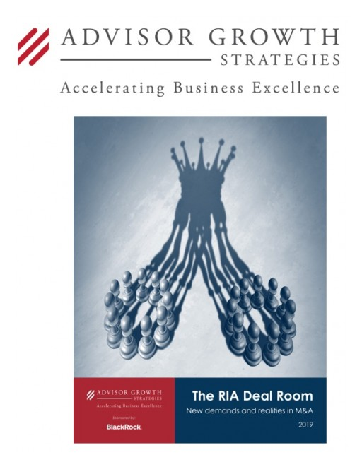 Inside the RIA Deal Room: Advisor Growth Strategies, With Support From BlackRock, Unveils New M&A Study