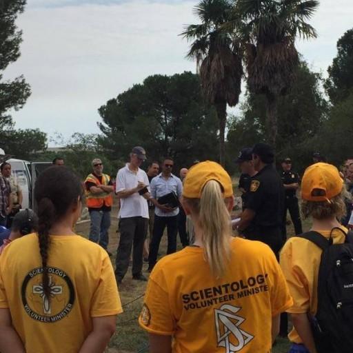 Scientology Volunteer Ministers Helped Firefighters Battle La Tuna Fire
