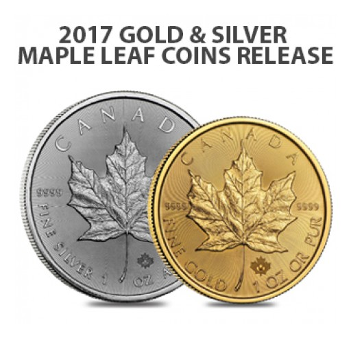 The New 2017 Gold and Silver Maple Leafs Are Now Available at Bullion Exchanges