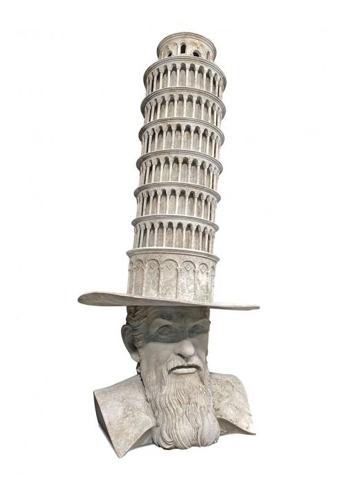 Vladimir Kush Unveils His New Bronze Sculpture: 'GALILEO'