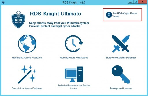 RDS-Knight 2.0 Tracks Attacks and Visibly Secures TSplus Servers