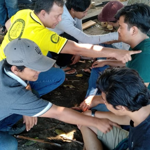 Volunteer Helps Indonesia Cope With Disaster