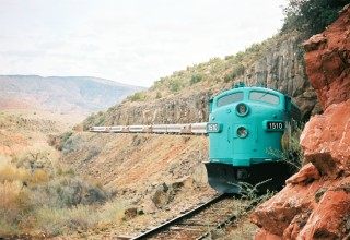 Winter in the Verde Canyon Railroad