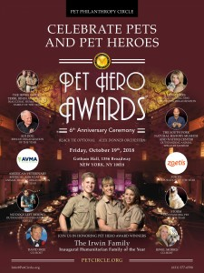 Pet Philanthropy Circle Pet Hero Awards poster