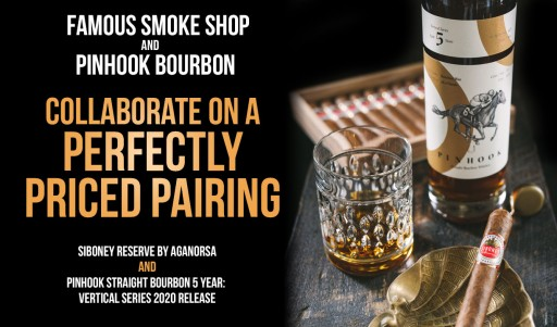 Famous Smoke Shop and Pinhook Bourbon Collaborate on a Perfect Pairing