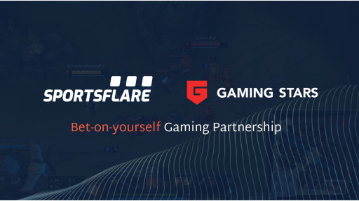 Sportsflare and Gaming Stars Announce Bet-on-Yourself Gaming Partnership