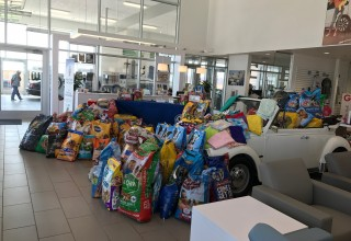 Collection of Pet Food at Street Volkswagen of Amarillo