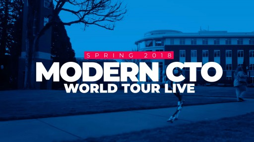 Introducing the Modern CTO Geek Night Out World Tour
