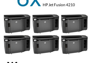 Weerg's 6 New HP Jet Fusion 4210