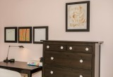 Whiteboard, cork board and metal board framed in Frames4Canvas
