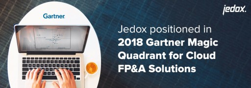 Jedox Placed in 2018 Gartner Magic Quadrant for Cloud Financial Planning and Analysis Solutions