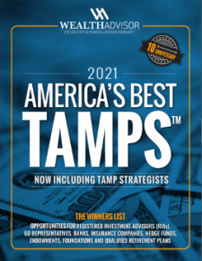 America's Best TAMPs, 2021: Guide for Financial Professionals Unveiled by TheWealthAdvisor.com