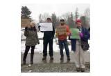 Protesters in Elkins, WV