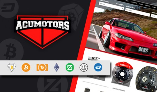 Acumotors Now Accepting Bitcoin Diamond (BCD) and Chimpion (CHIMP) Payments