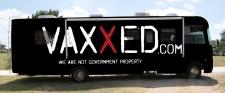 Vaxxed Nation Tour bus - artist rendering