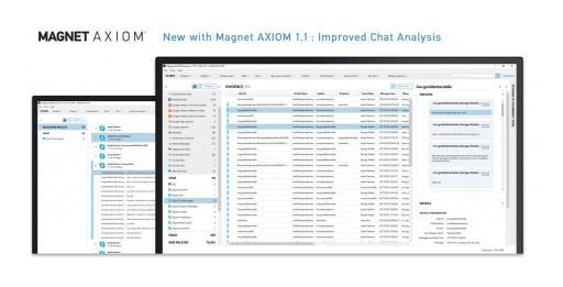 Magnet Forensics Releases Magnet AXIOM 1.1 for Powerful and Intelligent Digital Forensics