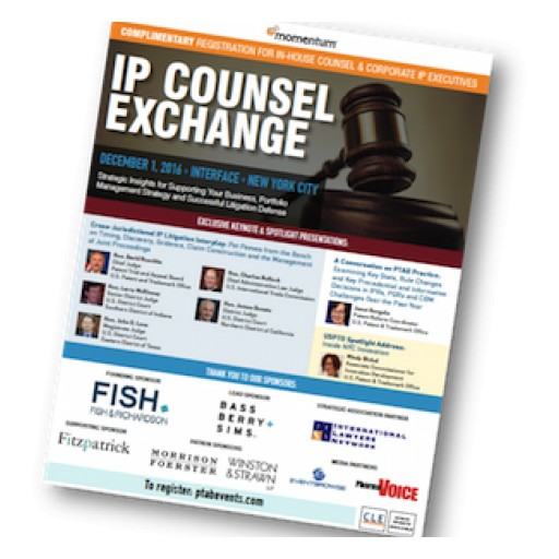 2 Chiefs, 3 Judges - Complimentary IP Exchange Summit
