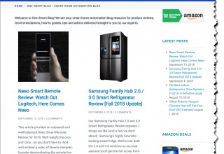 OneSmartcrib Smart Home Technology Blog