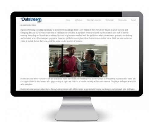 Outstream.com Makes Video Advertising Accessible for All Web Publishers