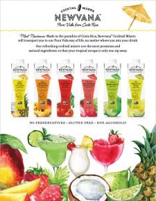 Newvana Cocktail Mixers