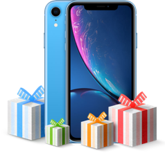 Giveaway iphone xr blue
