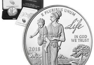 2018 Proof Platinum American Eagle - Life - COA