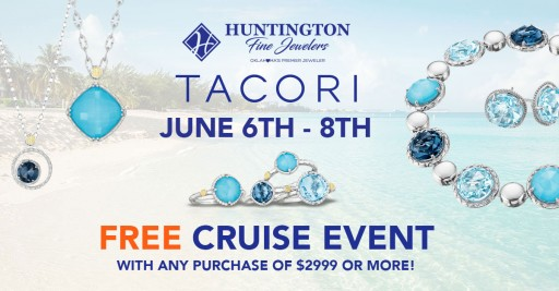 Huntington Fine Jewelers Offers Free Cruise and Father's Day Gifts This Month
