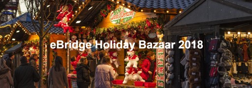 Online Holiday Bazaar by eBridge Connections is on Now!