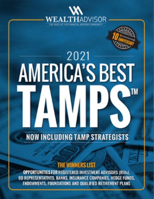 America's Best TAMPs, 2021 Edition: New Guide for Financial Professionals Unveiled by TheWealthAdvisor.com