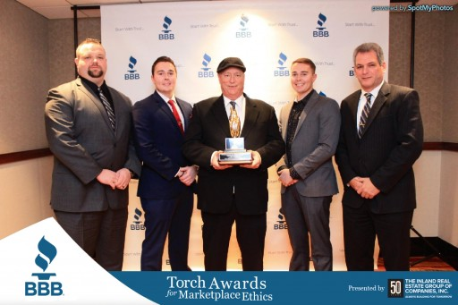 King Heating, Cooling and Plumbing Wins 2017 Better Business Bureau Torch Award for Marketplace Ethics