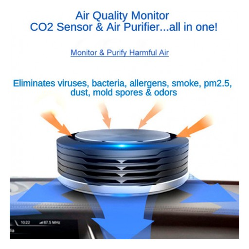 Clean-Air IQ: Air Quality Monitor & Air Purifier - Launches Crowdfunding Campaign With Indiegogo