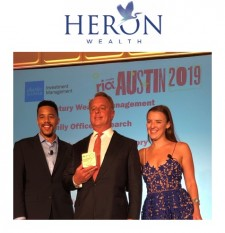 "Heron Wealth Recognized by Citywire RIA Magazine as ""Future 50"" Financial Advisory Firm to Watch"