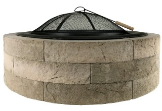 "42"" Acadia Lightweight Fire Pit Kit"