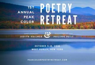 Peak Color Poetry Retreat