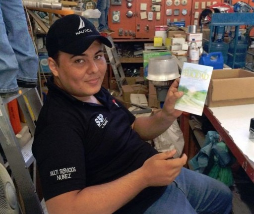 Spreading the Way to Happiness to the People of Honduras